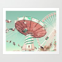 Fun Has Just Begun Art Print