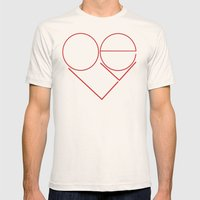 MODERN LOVE Mens Fitted Tee Natural SMALL
