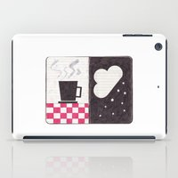 Coffee & Snow iPad Case