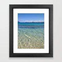 Sardinia Framed Art Print