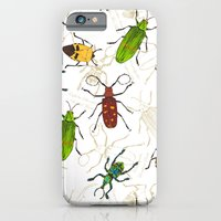 iPhone & iPod Case featuring Beetles by Marlene Pixley