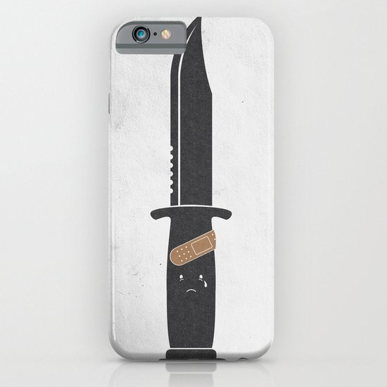 I Cut Myself iPhone & iPod Case