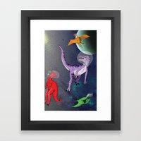 Extinction: The Final Fr… Framed Art Print