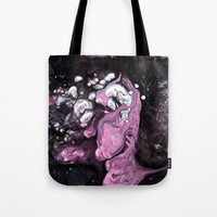Lilac guggle Tote Bag