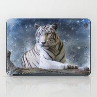 White Tiger iPad Case