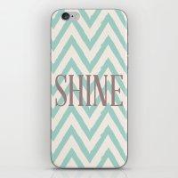 Chevron Shine iPhone & iPod Skin