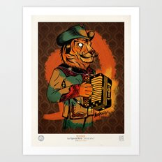 Jefe de Jefes Art Print
