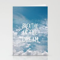 Breathe in the Dream... Stationery Cards