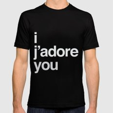i/you Black Mens Fitted Tee SMALL