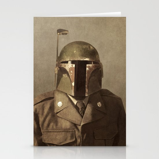 General Fettson   Stationery Card