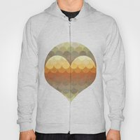 Half Circles Waves Color Hoody