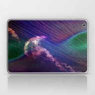 Jellyfish In Roaring Wav… Laptop & iPad Skin