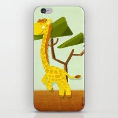 Giraffe iPhone & iPod Skin