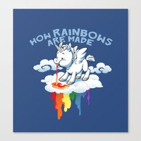 How Rainbows Are Made Canvas Print