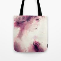 _the pink girl Tote Bag