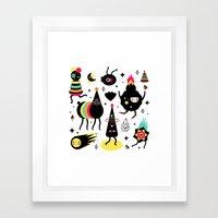 Cosmic Magic Framed Art Print