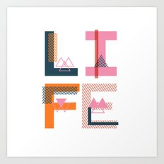 Geometric Type II Art Print