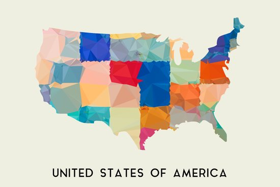 United States of America Art Print