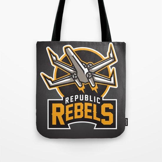 Republic Rebels - Black Tote Bag