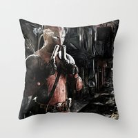 Merc-ing Aint Easy Throw Pillow