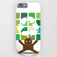 iPhone & iPod Case featuring green world by konlux