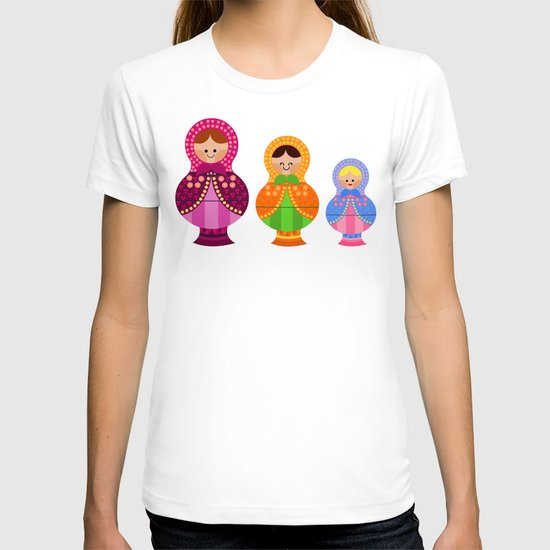Matrioskas 2 (Russian dolls 2) T-shirt