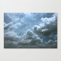 Wonder Cloud Canvas Print