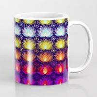 Variations on a Lotus I - Sparkle Brightly Mug