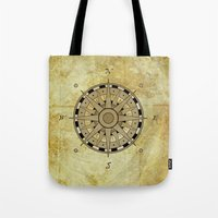 Compass Rose Tote Bag