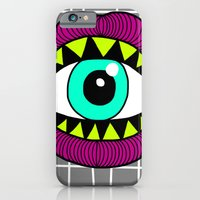iPhone & iPod Case featuring Eye'm Gonna Eat You by Stephanie Jett