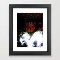 Love everywhere Framed Art Print