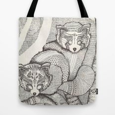 red pandas Tote Bag
