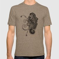 Spirit Of Spring B&W Mens Fitted Tee Tri-Coffee SMALL