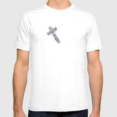 Audrey (Madonnas series)  SMALL Mens Fitted Tee White