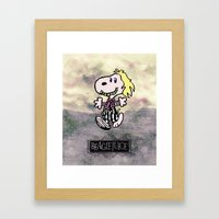 Beaglejuice Framed Art Print
