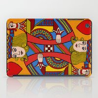 King Of Hearts iPad Case