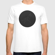 Metricorn Mens Fitted Tee SMALL White
