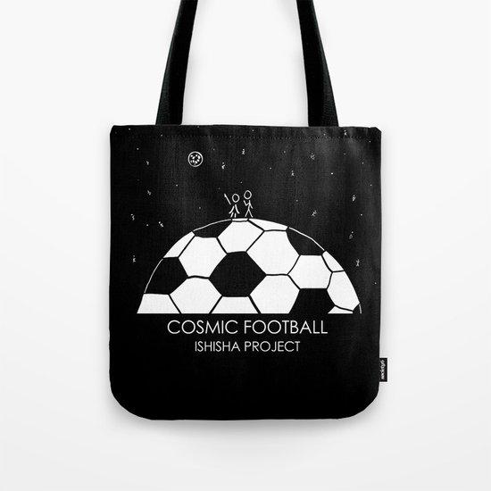 COSMIC FOOTBALL by ISHISHA PROJECT Tote Bag