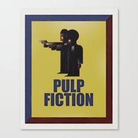 CASSANDRE SPIRIT - Pulp Fiction Canvas Print