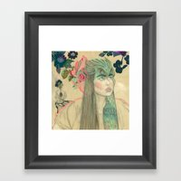 Calista Framed Art Print
