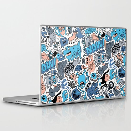 Gross Pattern Laptop & iPad Skin