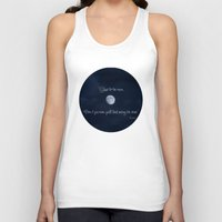 Shoot For The Moon Unisex Tank Top