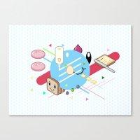 Tasty Visuals - Mayooo Canvas Print