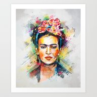 Art Print featuring Frida Kahlo by Tracie Andrews