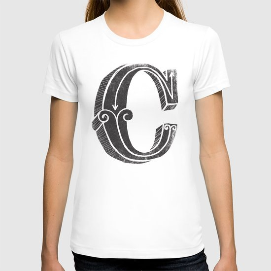 C - the third letter of the alphabet T-shirt