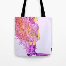 Flame doodle Tote Bag