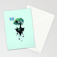 Greedy Grackle Stationery Cards
