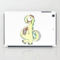 Zombie-Saurus iPad Case