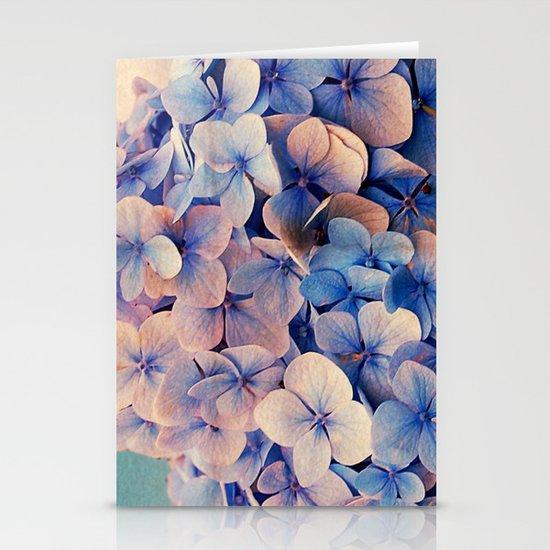 Blue Dreams Stationery Card
