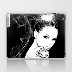 Smoke Girl Laptop & iPad Skin